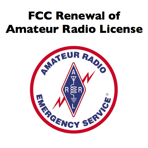 fcc shortwave ham amateur radio license renewal online – iowa city