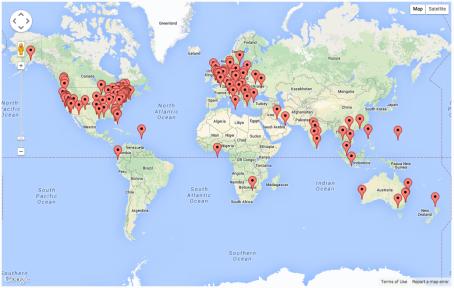 Page Views - Global