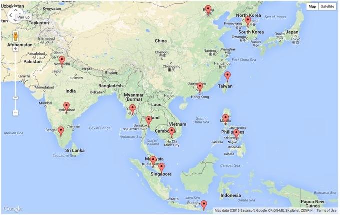 Website Visits - Asia