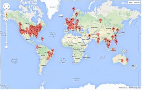 Website Visits - Global